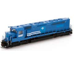 Athearn #G63655 HO SDP45 w/DCC & Sound VMV Leasing/Conrail #6687