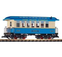 PIKO #38621 CNJ Wood Coach, Blue Comet #2