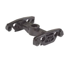 Walthers #920-2013 Trucks Without Wheels 5' Wheelbase (For 932- or 910-Series Ore Cars) (12 pcs) (Black)