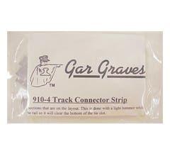 Gargraves #910-4 Rail Strip Connector- Stainless - Pkg/25