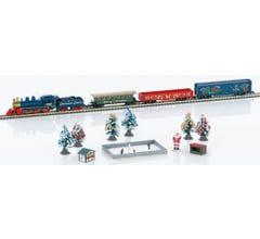 Marklin Z Scale #81846 American Christmas Starter Set - Standard DC Christmas Express 4-6-0 120 Volts
