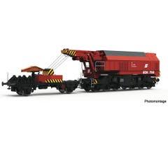 Roco #73036 Slewing Railway Crane w/digital operation - ÖBB