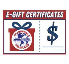 TrainWorld E-Gift Card