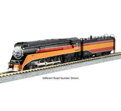 Kato #126-0310 N 4-8-4 GS-4 Southern Pacific Lines Daylight #4454