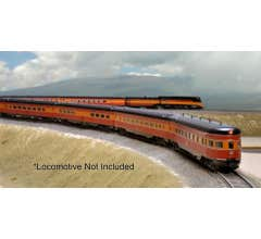 Kato #106-063 N Scale Southern Pacific Lines Daylight 10 Car Set