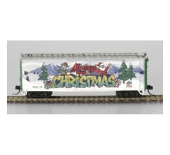 Atlas #20006767  40' PLUG DOOR BOX CAR CHRISTMAS SPECIAL NPLX 25