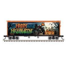 Atlas #20006765  40' PLUG DOOR BOX CAR HALLOWEEN SPECIAL SLLX 1692