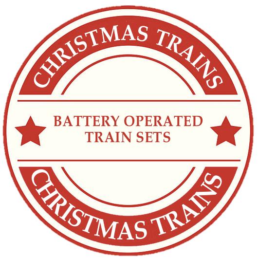 Christmas Battery Train Sets