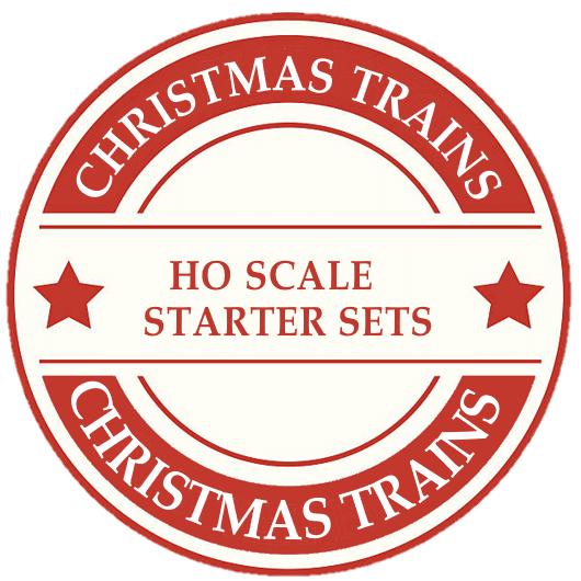 Christmas HO Scale Starter Sets