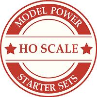 Model Power HO Scale Model Train Sets