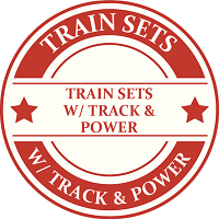 ON30 Train Sets With Track & Power Model Trains