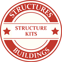 O Scale Buildings & Structures Building Kits Model Trains