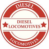 ON30 Diesel Locomotive Model Trains