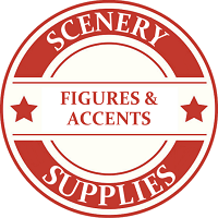 O Scale Scenery Figures & Accents Model Trains