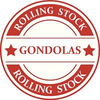 G Scale Gondola Model Trains