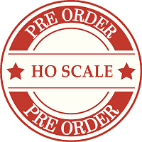 Model Train HO Scale Pre Orders