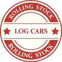 ON30 Log Car Model Trains
