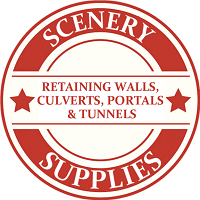 Z Scale Scenery Retaining Walls / Culverts / Portals / Tunnels Model Trains