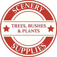 S Scale Scenery Trees Bushes & Plants Model Trains