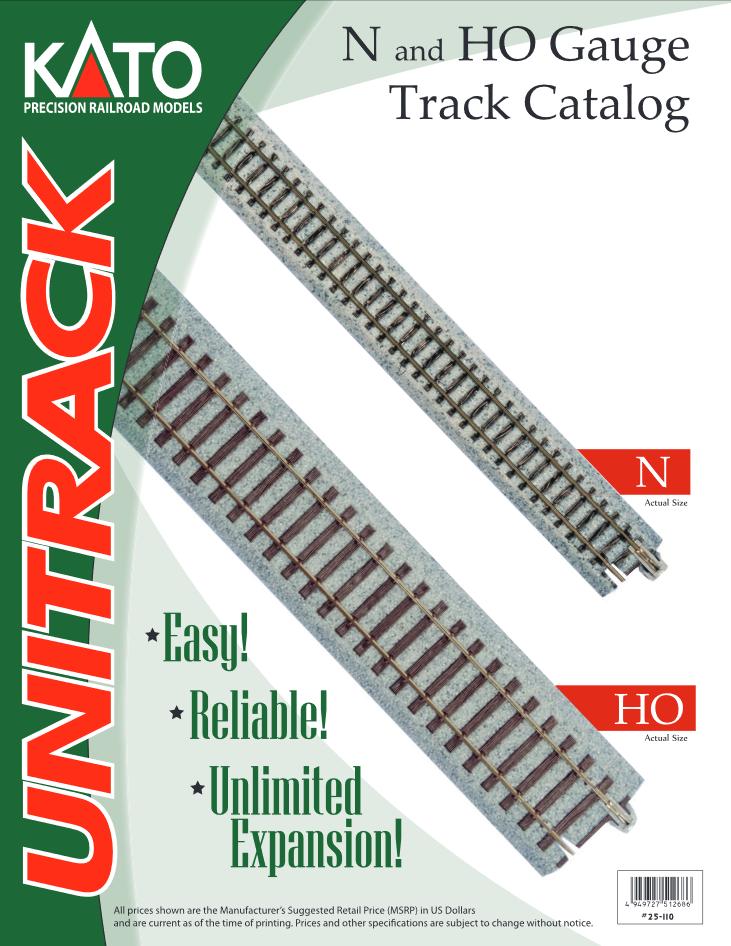 Kato N HO Scale Track Catalog