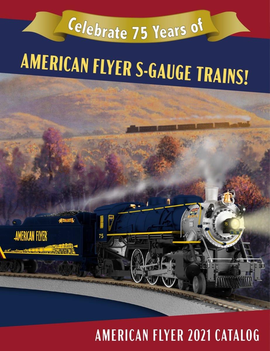 Lionel Trains 2021 American Flyer Catalog