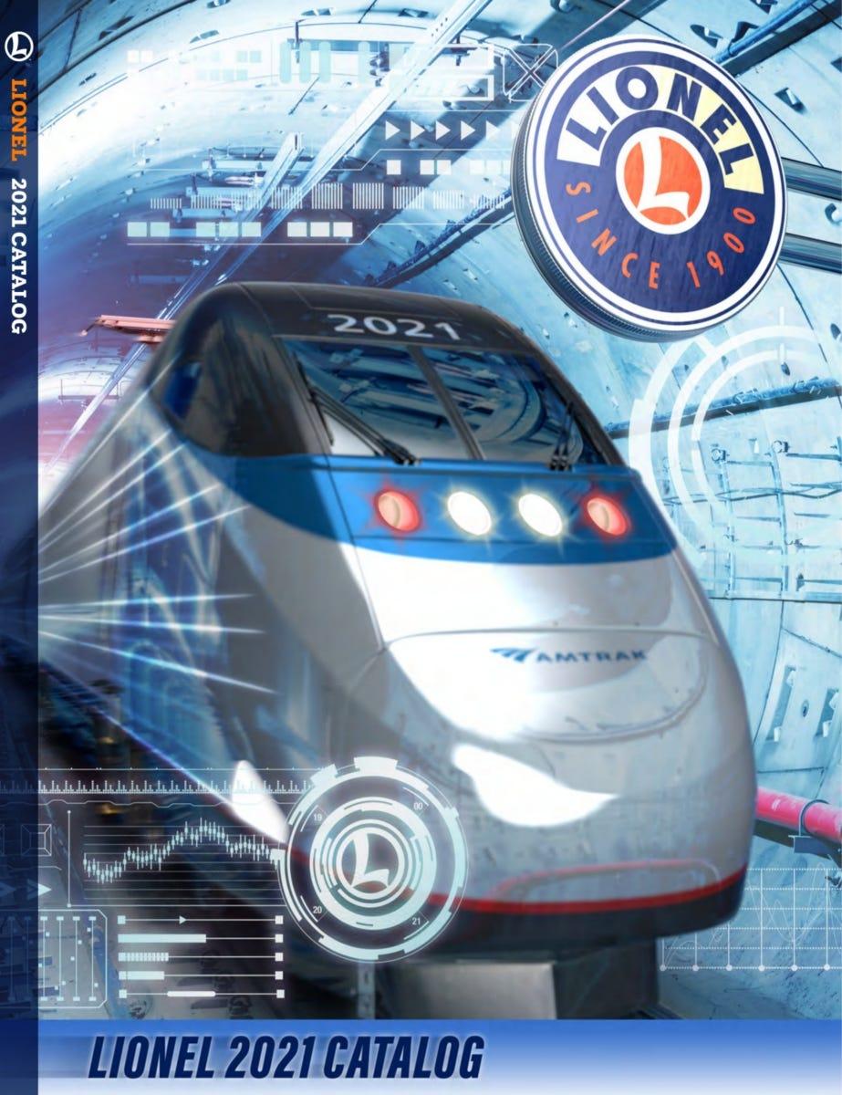 Lionel Trains 2021 Big Book Catalog
