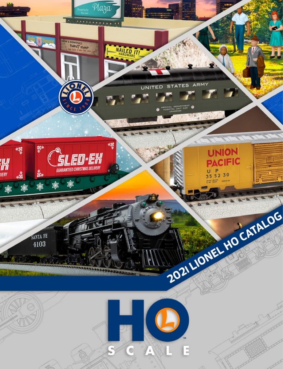 Lionel Trains 2021 HO Scale Catalog