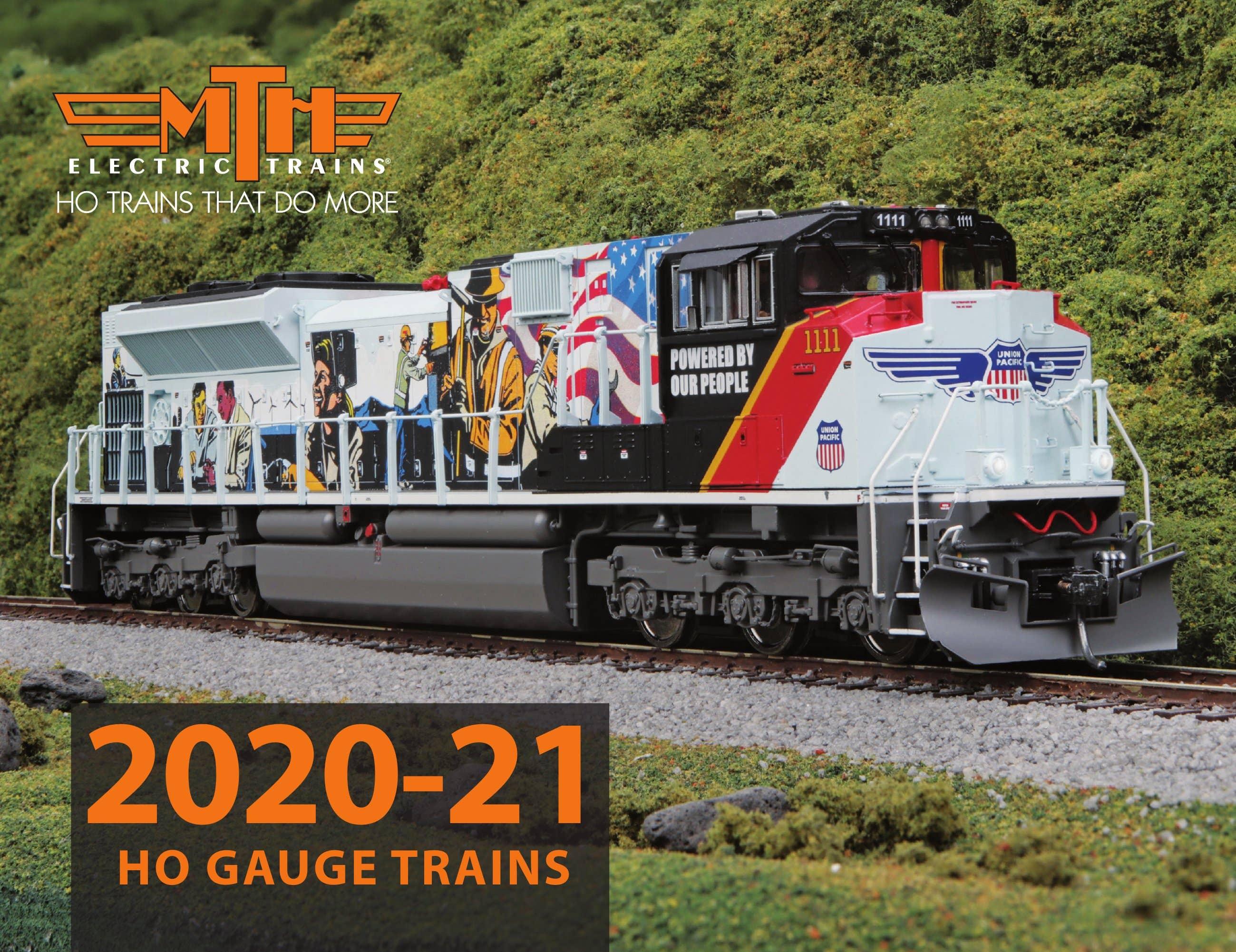MTH 2020-2021 HO Gauge Trains