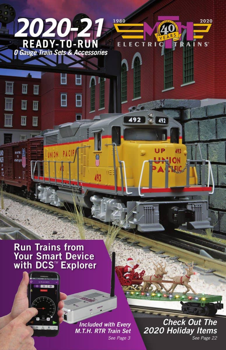 MTH 2020-2021 Ready-To-Run O Gauge Train Sets & Accessories