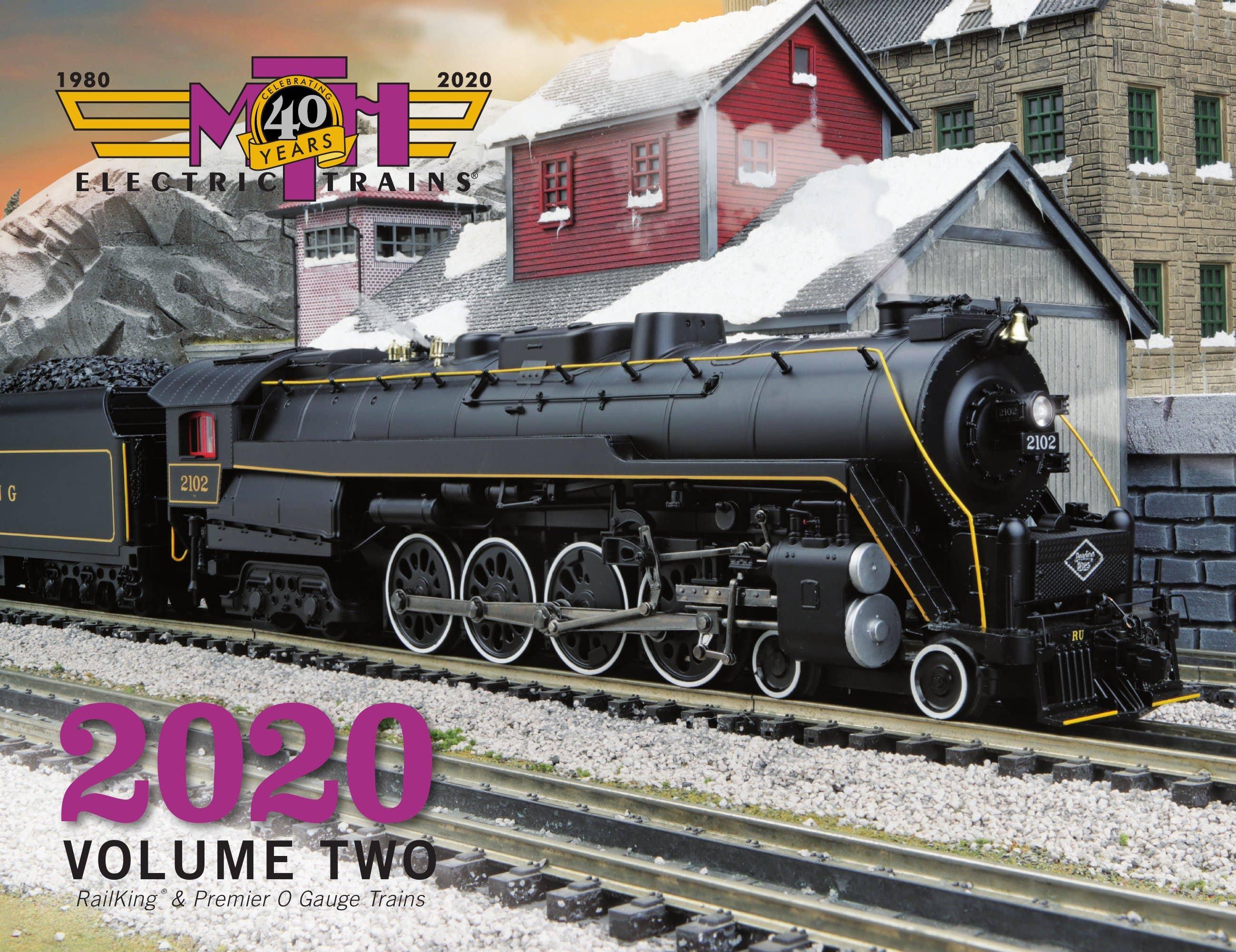MTH 2020 Volume 2 RailKing & Premier O Gauge Trains