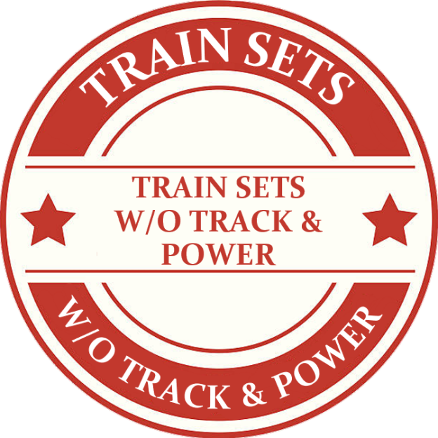 Tinplate Track Sets Without Track And Power Model Trains