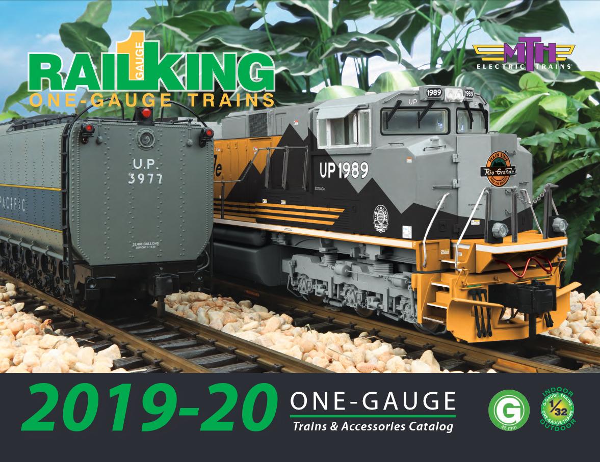 MTH 2019 - 2020 One-Gauge catalog